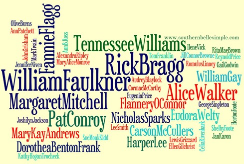 sbs wordle southern authors