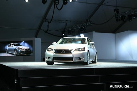 2013 Lexus GS450h Will Bow At Frankfurt Auto Show