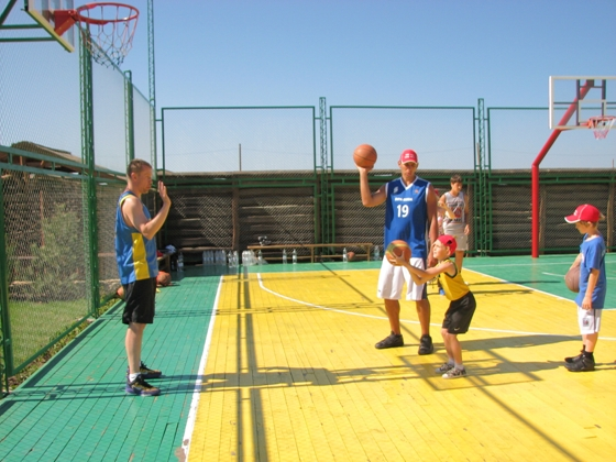 Баскетбольный лагерь ARD PLUS 2013 в Железном Порту