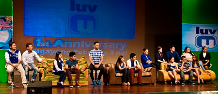 cast of LUV U