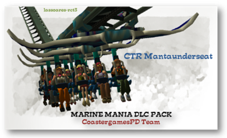 CTR Mantaunderseat in Marine Mania Pack (CoastergamesPD Team) lassoares-rct3