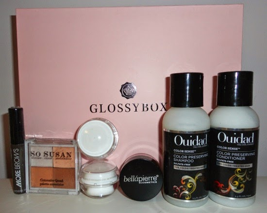 March 2015 Glossy box 1