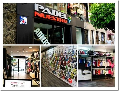Padel Nuestro abre su primera tienda en Elche, la sexta en España en 2014