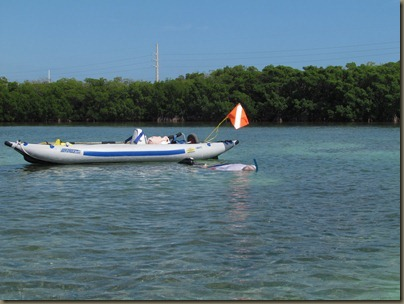 kayaking around sunshine key