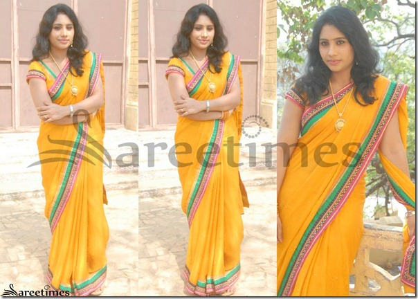 Latha_Yellow_Saree