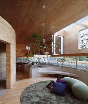 Decoracion interior casa de madera