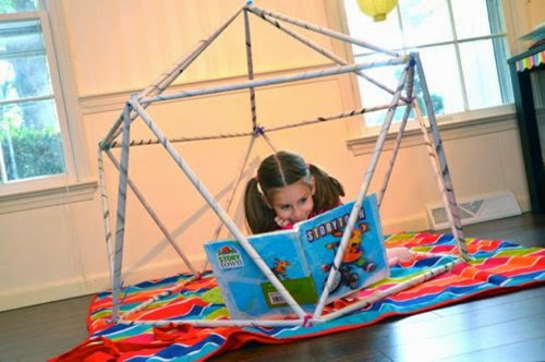 Newspaper Play Structure from Inner Family Fun