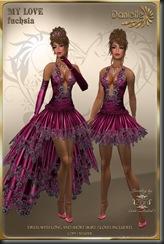 DANIELLE My Love Fuchsia'