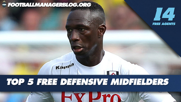 5 Best Free Defensive Midfielders FM 2014
