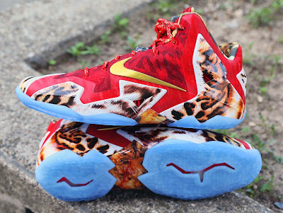 nike lebron 11 gr 2k14 8 04 James Wears Nike LeBron 11 2K14 to Celebrate Miamis Win