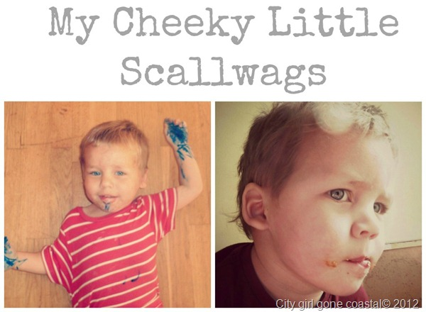 cheeky scallywags