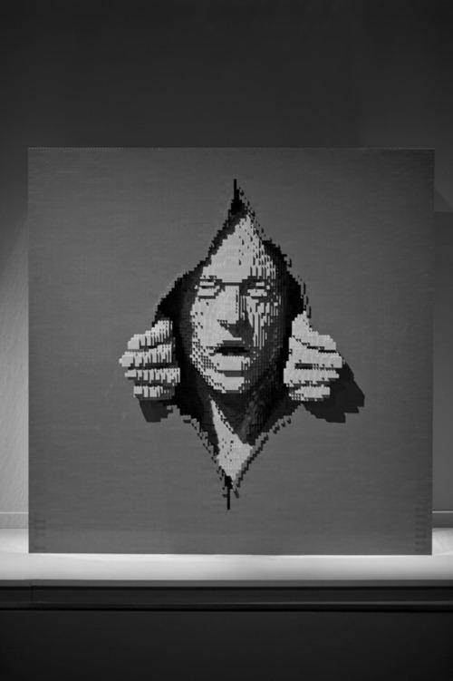 escultura Legos 03