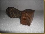 Batu suiseki wajah - kayu bawah