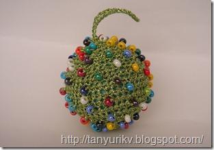 елочный шар своими руками, украшения на елку своими руками