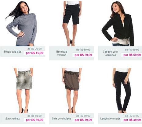 moda feminina – De mulher para mulher  Marisa liquidacao preco