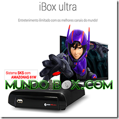IBOX ULTRA HD BLACK