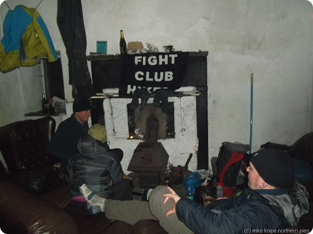 inside the bothy
