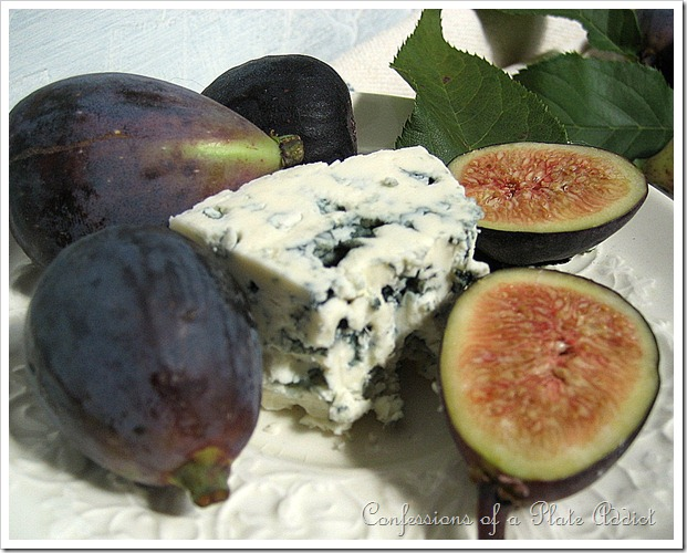 bleu cheese and figs