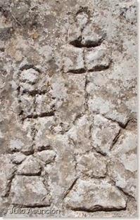 Grabados del Arco de San Pascual - Pareja principal