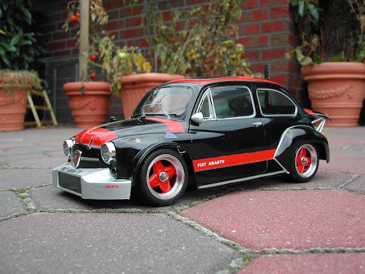 Tamiya 58158 Fiat Abarth 1000