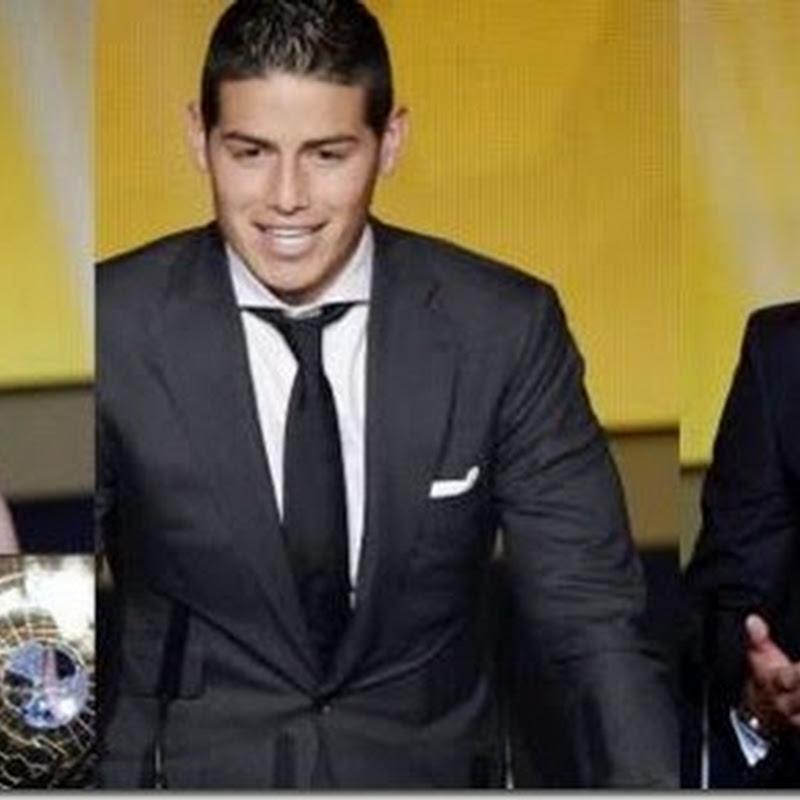 Löw, James Rodríguez y Nadine Kessler, los otros triunfadores de la gala del Balón de Oro
