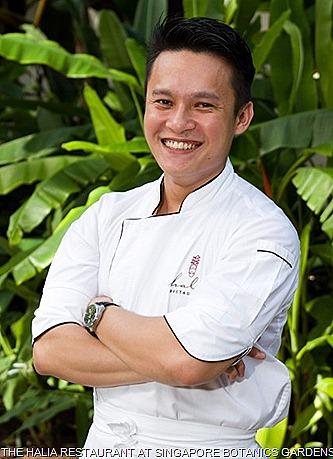 Halia Restaurant Chef Reynaldo Singapore  Botanic gardens