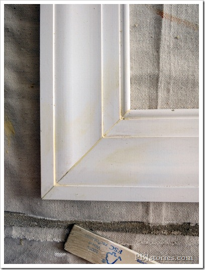 mittering frame corner