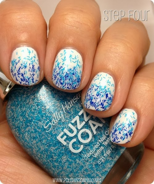 #IHeartMyNailArt Water Inspired manicure by polish insomniac #shop