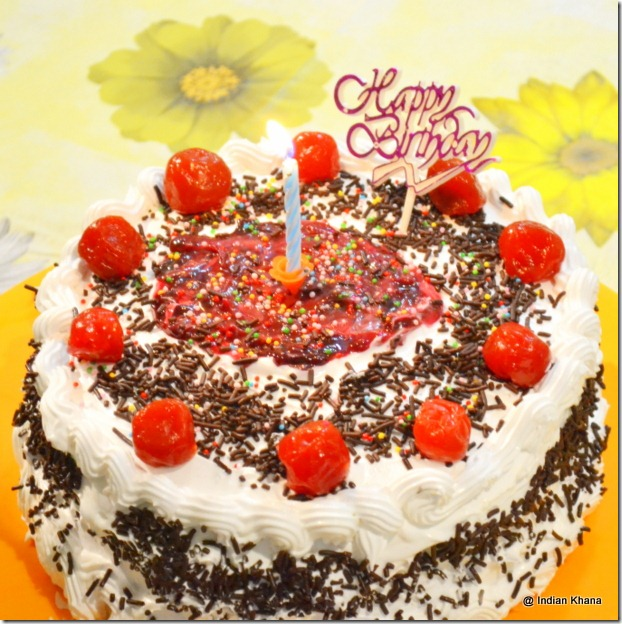 Easy Black forest cake recipe in indian blog