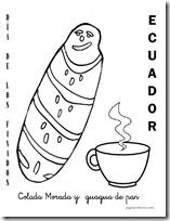 DIA DE LOS FINADOS - ecuador colorear (1)