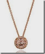 Astley Clarke Morganite and Diamond Pendant
