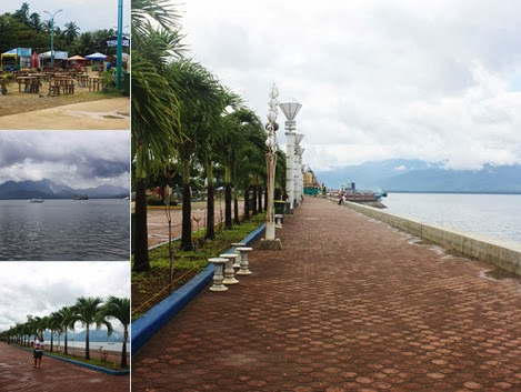 View Puerto Princesa Baywalk