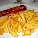 original Berlin Currywurst (curry + sausage) in Berlin, Berlin, Germany