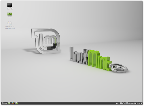  Linux Mint 14 RC - Cinnamon