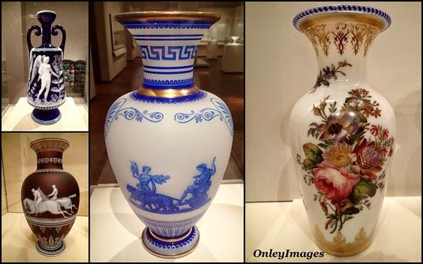 vase collage