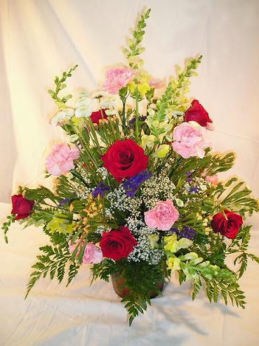 Anniversarybig Flower Arrangement Ideas