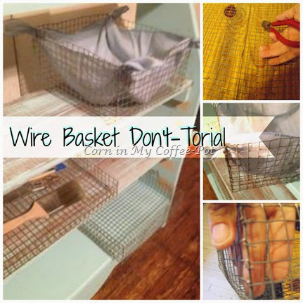 wire basket don't torial