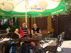 Tour de Beskid Sądecki zaczynamy od miłej knajpki przy dworcu w Krakowie. Ostatnio dość regularnie w niej bywamy ;-)