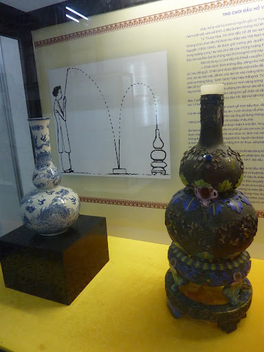 Some of the rules and tools of the (originally Chinese) Dau Ho game, where sticks are thrown into a vase. Fascinating.
