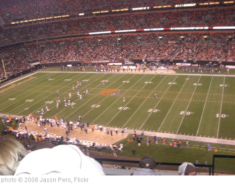 'Cleveland Browns Game' photo (c) 2008, Jason Pero - license: http://creativecommons.org/licenses/by/2.0/