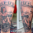 cards cars pin up - tattoos ideas