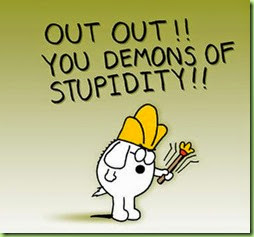 dogbert demons of stupidity