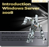 Introduction Windows Server 2008