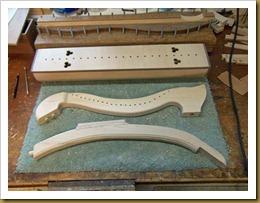 Medieval harp-72