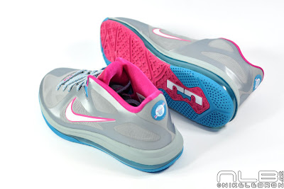 lebron9 low fireberry 11 web white The Showcase: Nike LeBron 9 Low WBF London Fireberry