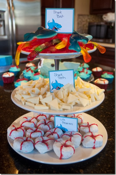 Shark Party Snacks