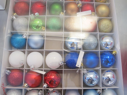 Ornaments for any holiday color scheme.