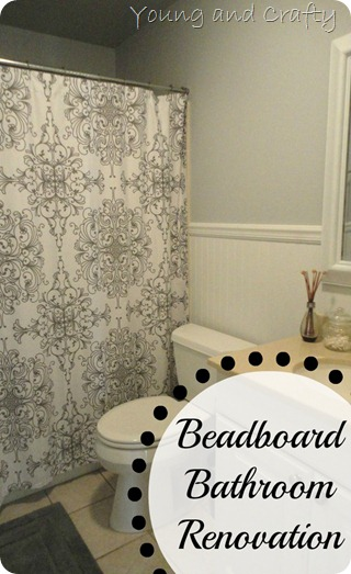 Beadboard Bathroom renovation