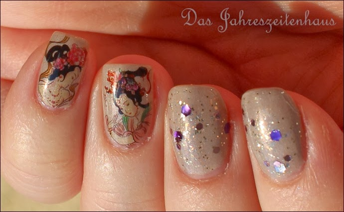 Geisha Nail Art 6