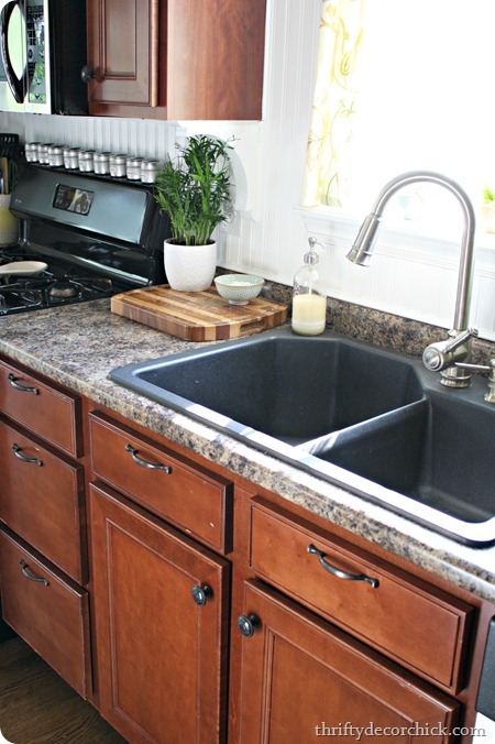 granite looking countertops